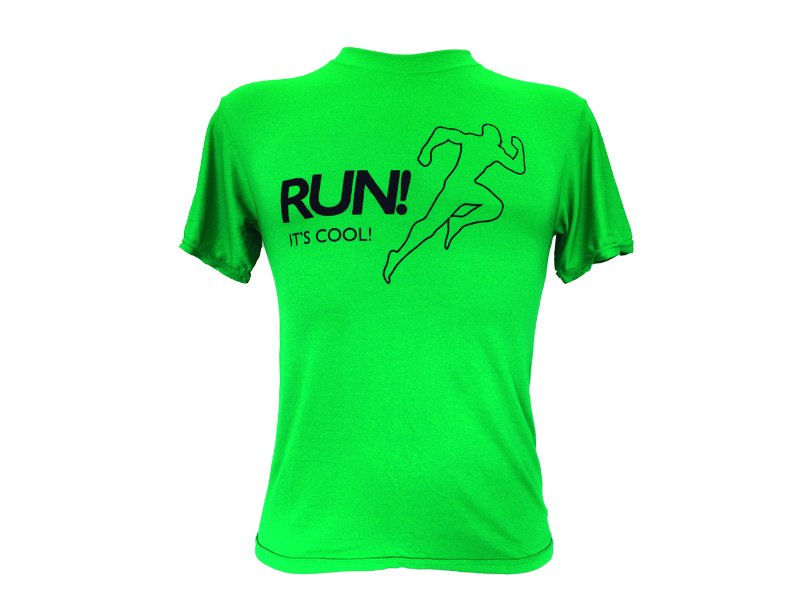 Coolshirt Run It's Cool Verde
