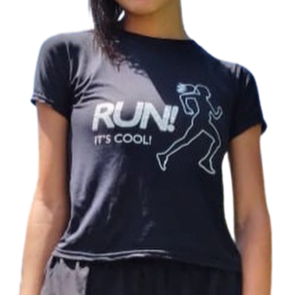 COOLSHIRT | Runs It's Cool Baby Look